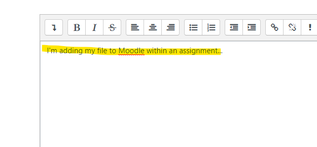 Upload a Google Drive File to a Moodle Forum or Online