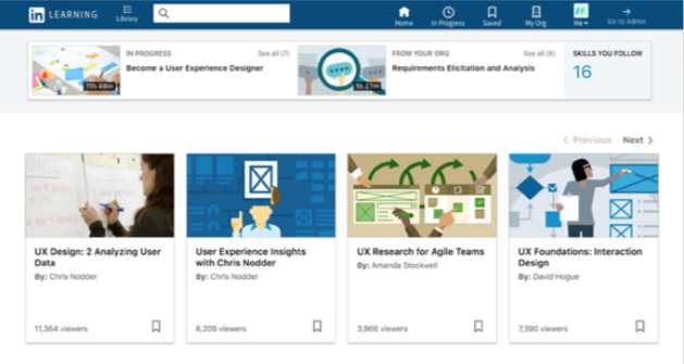 LinkedIn Learning - Teaching and Learning Technology