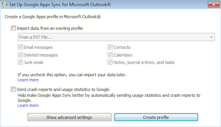 Outlook Mail Merge with Google Apps Sync - ITS Knowledge
